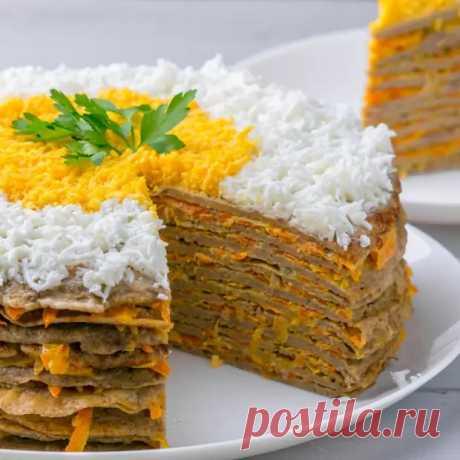 Как приготовить домашний печёночный торт: 7 вкуснейших рецептов - медиаплатформа МирТесен