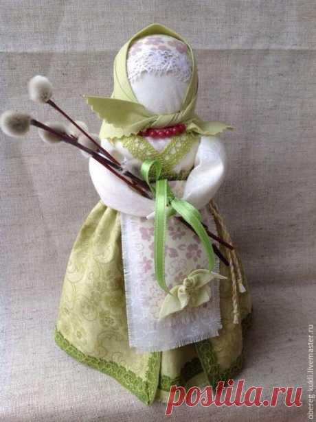 Кукла-оберег Вербница (Пасха). Мастер-класс и идеи   Рукоделие