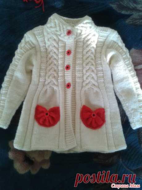Детское пальто. Для внучки. Очень ярко