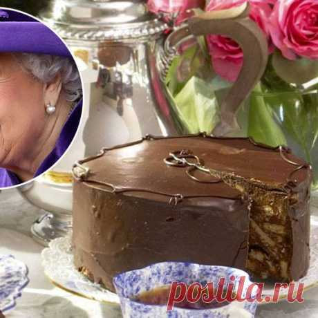 Рецепт королевского торта: любимый десерт Елизаветы II и Кейт Миддлтон | Glamour.ru Предупреждаем: после прочтения материала вам точно захочется съесть кусочек шоколадного торта— любимого десерта королевы Великобритании! Рецепт прилагается.