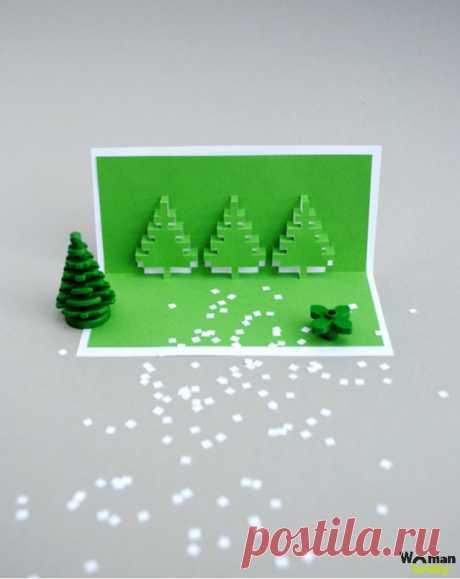 Киригами для начинающих. 35 простых схем и шаблонов