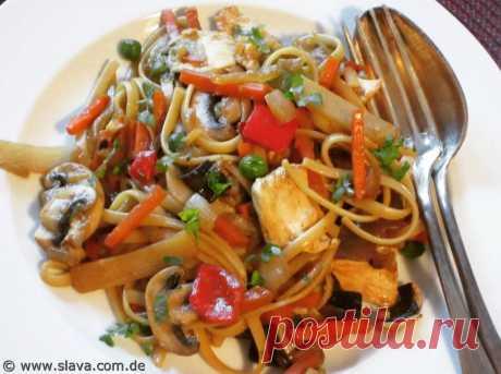 Slavas Schnelle Asia-Gemüse-Pfanne – Kochen & Backen leicht gemacht mit Schritt für Schritt Bildern von & mit Slava - Life Is Life