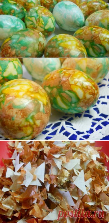 Вкусные рецепты: Мраморные яйца к Пасхе