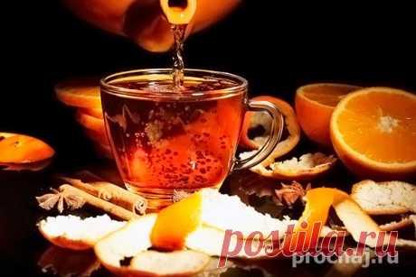 Яблочный чай с апельсином и корицей рецепт приготовления