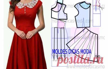 8 простых и легких платьев с выкройками… идеальны для любой фигуры! – В Курсе Жизни