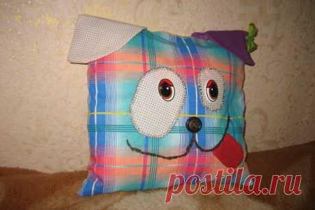 Шьем подушку с мордочкой собачки | CityWomanCafe.com