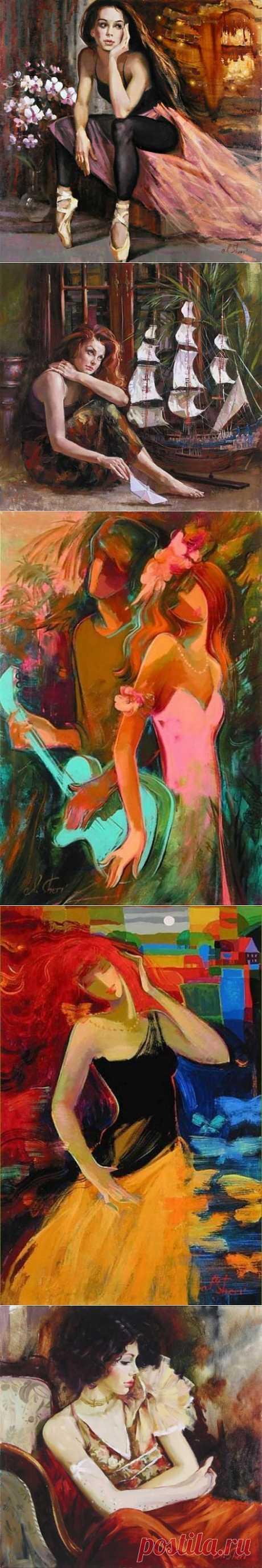 СОВРЕМЕННЫЕ РОССИЙСКИЕ ХУДОЖНИКИ. ИРЕН ШЕРИ( ВИШНЕВСКАЯ). | Искусство
