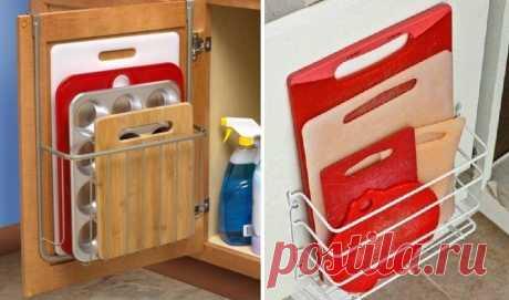 Полная оптимизация кухни, часть 3. Как сделать функциональнее кухонные фасады, подборка лучших идей | Мебель своими руками | Яндекс Дзен