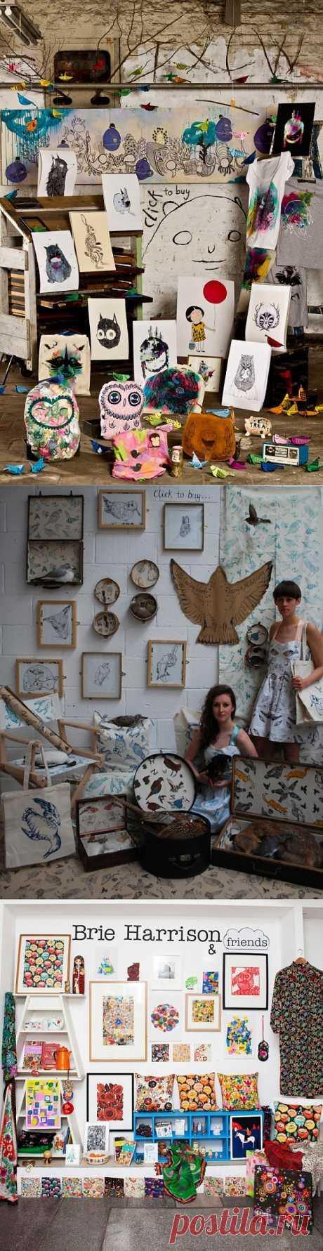 Немного фантазии / Городская среда (граффити, снеговики, ets) / Модный сайт о стильной переделке одежды и интерьера