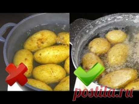 """Как я готовлю картофель """"в мундире"""". Три способа. Самый быстрый способ """"пятиминутка"""" - если картофель нужен очень срочно. Второй способ - запеченный в духовк..."""