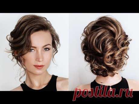 Как создать объем из очень коротких и тонких волос с помощью утюжка