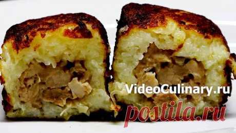 Колдуны картофельные - Рецепт Бабушки Эммы с Фото и Видео