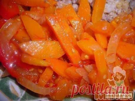 Рецепт: Вкусный салат из морковки