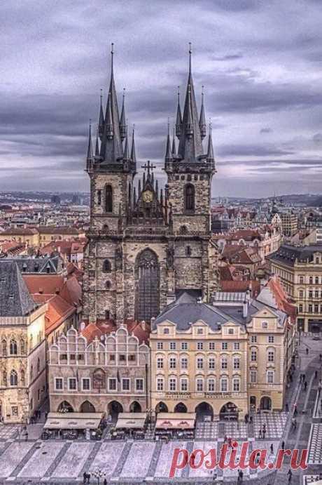 """Una serie de las fotografías """"el Paseo a Praga"""""""