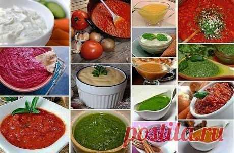 22 вида соусов на все случаи жизни.   Готовим вместе