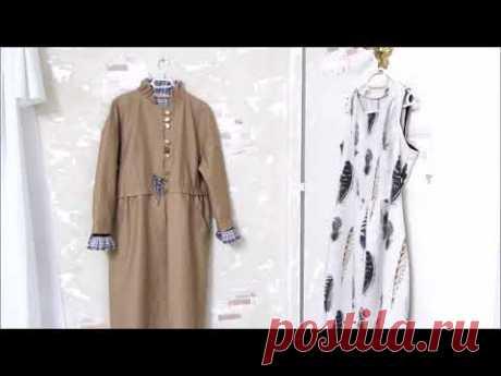 БОХО Летнее пальто из хлопка и льняное платье