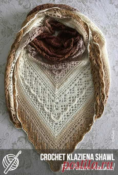 Triangular Free Crochet Scarf Patterns   Patterns Center #crochetscarf #crochetscarfidea