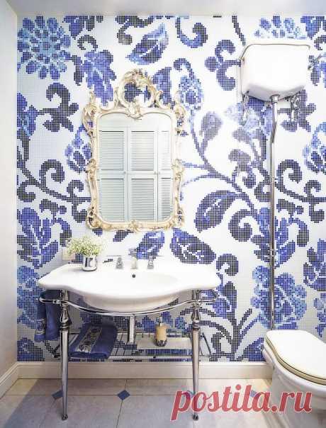 Плитка в ванной комнате: более 60 идей