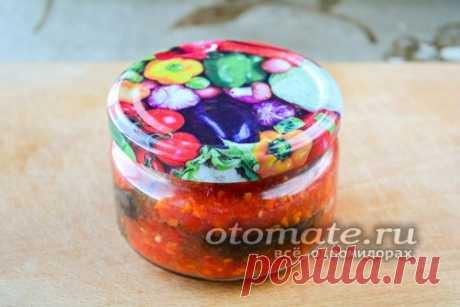 Баклажаны жареные с чесноком и помидорами на зиму, рецепт с фото