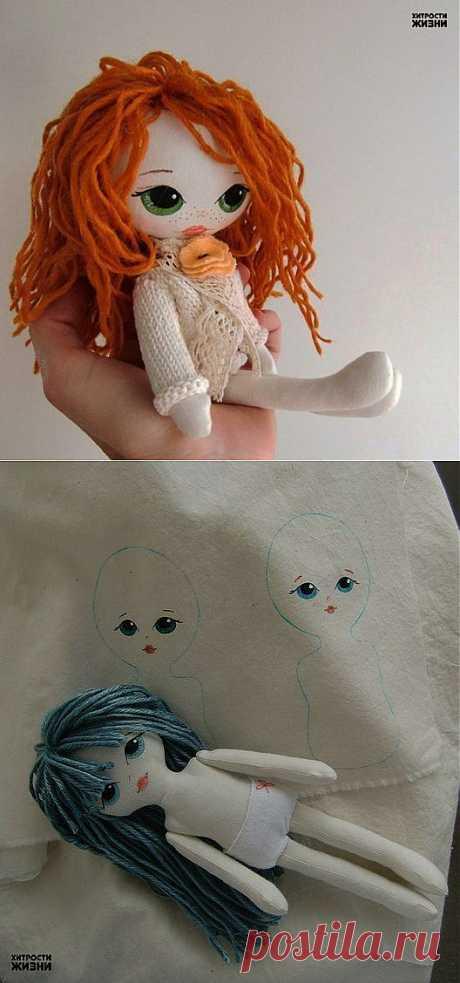 Куклы своими руками. Пупсы из носков..