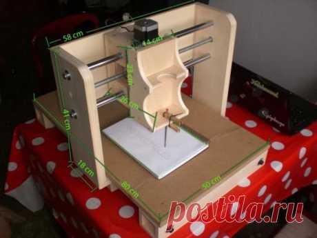 La fabricación de la máquina CNC del árbol en base a Arduino