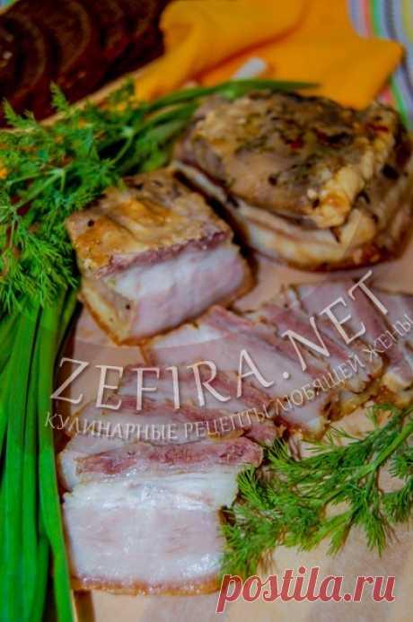 Свиная грудинка, запеченная в духовке в рукаве — Кулинарные рецепты любящей жены