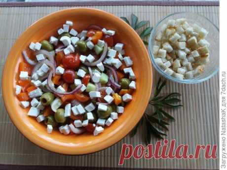 Греческий салат – прикосновение к традициям Эллады