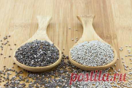 Чиа - семена для укрепления здоровья