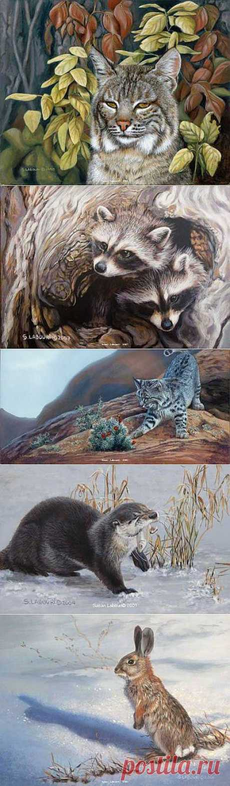 Животные художницы Susan Labouri - Галерея искусств - Для души - Статьи - Школа радости
