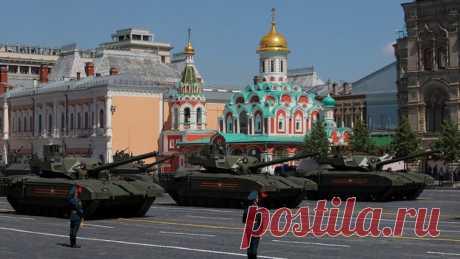Times о параде Победы: Путин продемонстрировал силу и новое вооружение — ИноТВ В параде Победы в Москве впервые приняли участие арктический танк Т-80БВМ, огнемётная система ТОС-2 Тосочка и зенитно-ракетная система С-350 Витязь, передаёт The Times. Материал представлен в пересказе ИноТВ.