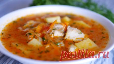 Простой суп с рыбой – пошаговый рецепт с фотографиями