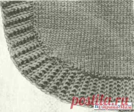 Особенности вывязывания планок в жакетах - Вязание - Страна Мам