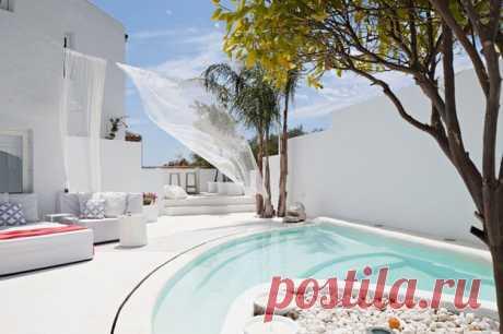 Вилла Mandarina на Costa del Sol (Villa Mandarina at Costa del Sol, Spain) | Средиземноморская архитектура в Испании, Греции, Марокко, Египте / Mediterranean architecture and design