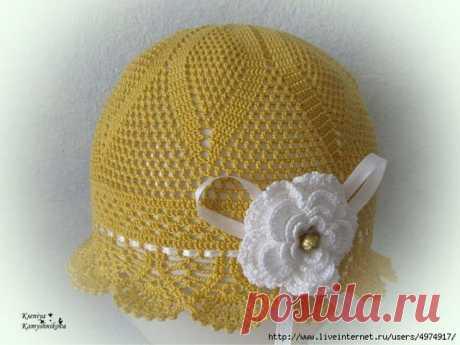 Вязаные шляпки. Одна схема, а шляпок много | razpetelka.ru