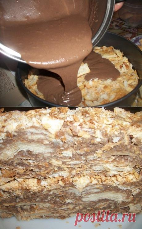 Вы будете покорены этим вкусом. Оригинальный торт Наполеон за пол часа