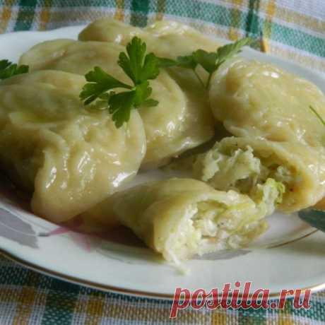 Рецепты по четвергам. Клёцки, ньокки, галушки, вареники. Вареники с капустой (2)