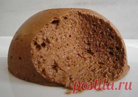 Хлебный мусс с изюмом и лимонами мусс из черного хлеба с изюмом и цедрой лимона и черным шоколадом