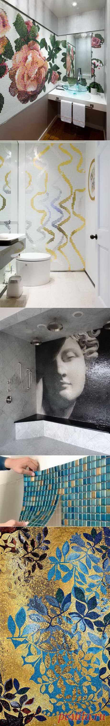Мозаика для стен и пола | Любимый дом
