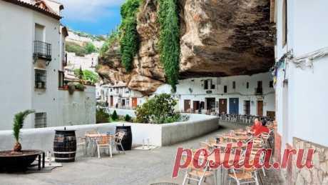 Сетениль-де-лас-Бодегас, «город в скале», Испания