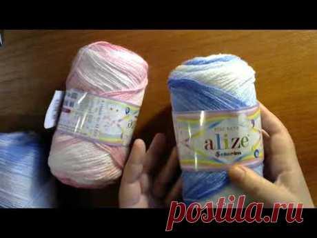Мои покупки и мои планы. #мастеркласс #красивыйузор #вязание #knitting #лучшее #мк - YouTube