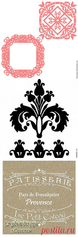 Трафареты для декора мебели – купить на Ярмарке Мастеров   Ручная работа и хенд мейд