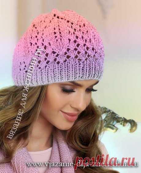 Вязание шапок клоке
