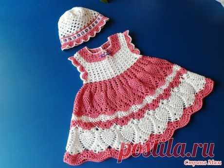 . Летние платьица для малышек - Вязание - Страна Мам
