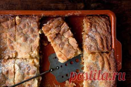 Нежный и вкусный пирог к вечернему чаепитию. Рецепт от шеф-повара!
