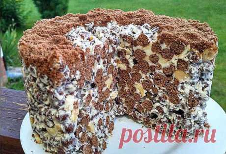 Даже не думайте применять этот Рецепт. Простой и быстрый торт без выпечки за 2 минуты | Журнал Повара | Яндекс Дзен