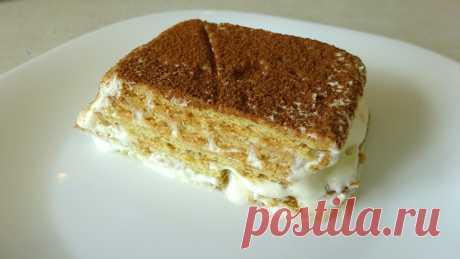 Торт за 5 минут без выпечки
