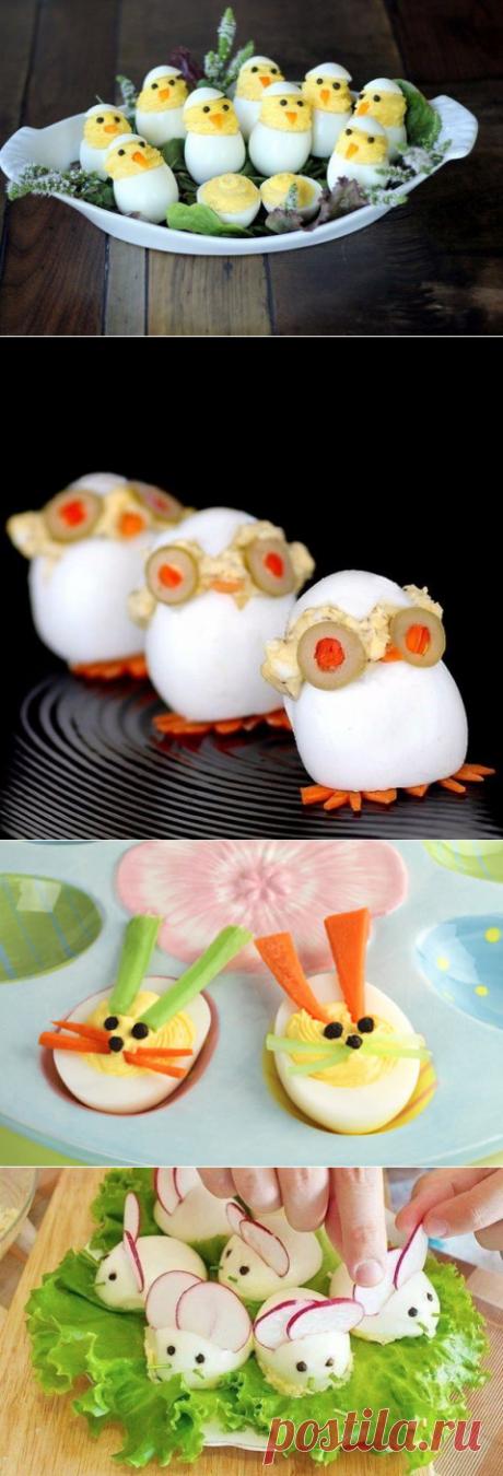 Идеи оригинальной подачи яиц — Полезные советы
