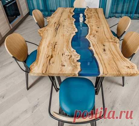 Столы в стиле лофт из дерева: 30 оригинальных примеров ~ ALL-DEKOR.RU