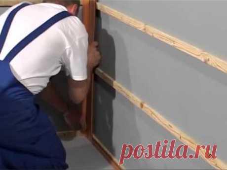 Обрешетка для панелей ПВХ: на потолок, на стены, способы крепления