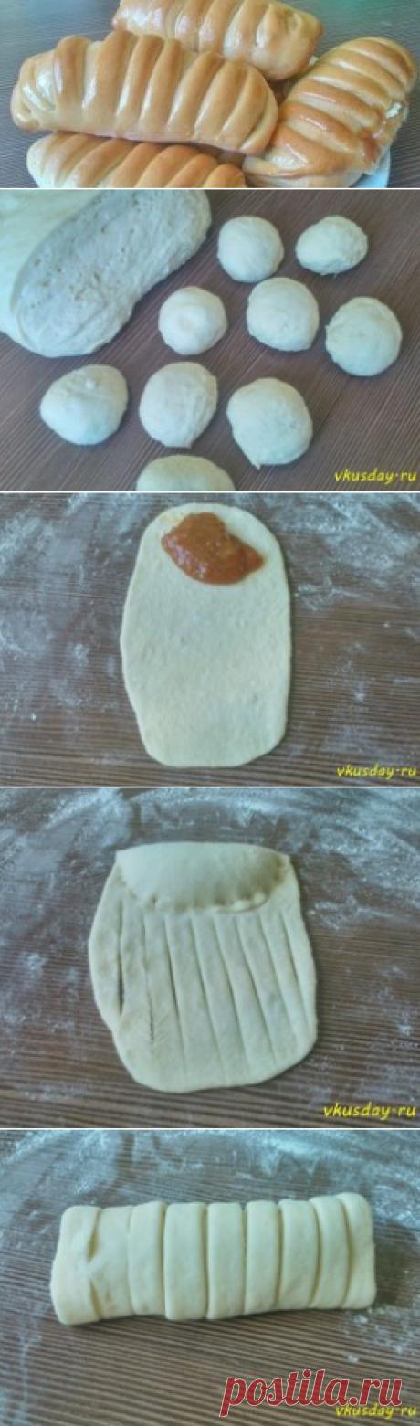 Rolls with jam | Tasty day